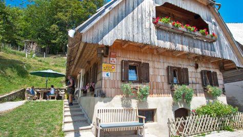 Turistická farma Gorjup, Bohinj - Objekt