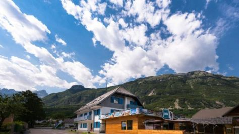 Hostel Soča Rocks, Bovec - Objekt