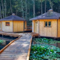 Pikol Lake Village Glamping Resort, Nova Gorica - Экстерьер