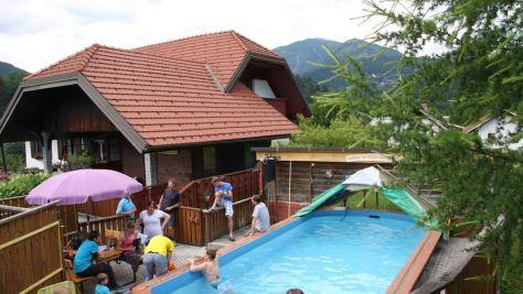 Turistična kmetija Pri Boštjanovcu, Gorenja vas - Bazén