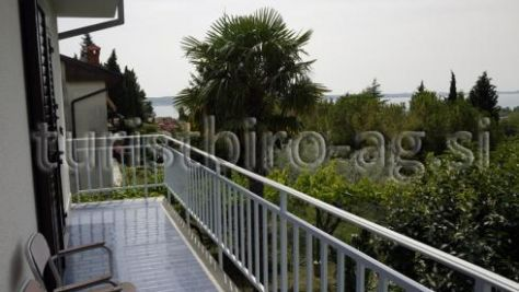Ferienwohnungen Portorož 8694, Portorož - Portorose - Balkon
