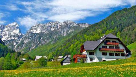 Turistična kmetija Govc-Vršnik, Logarska dolina, Solčava - Zunanjost objekta
