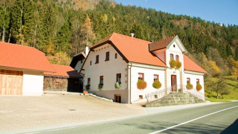 Turistická farma Bukovje, Ljubno - Objekt