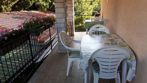 Rooms Izola 9816, Izola - Balcony